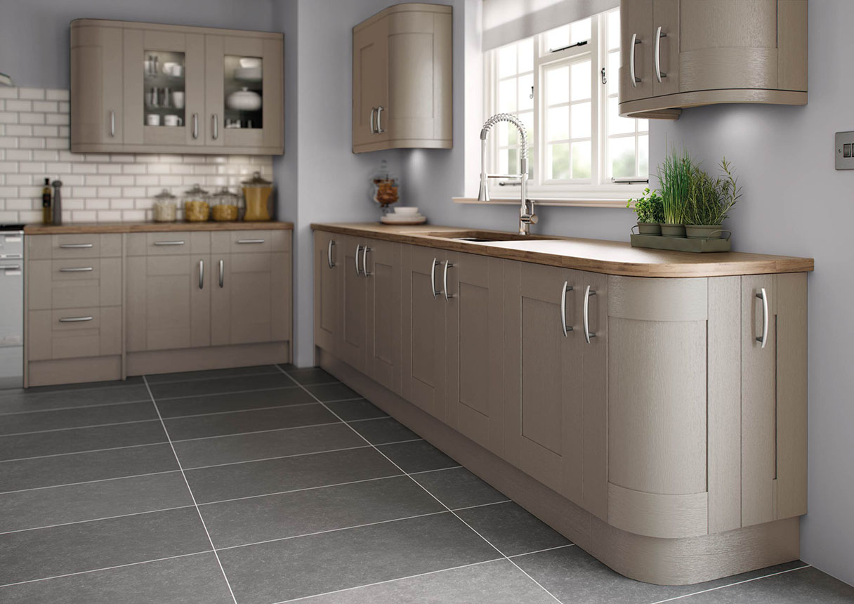 Cartmel Brown Grey Kitchens