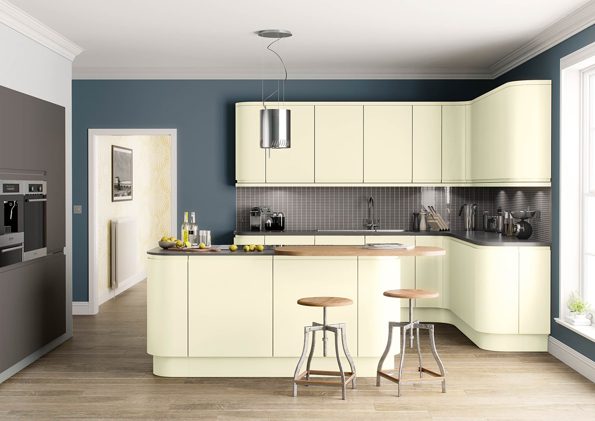 Lucente Light Grey Kitchens