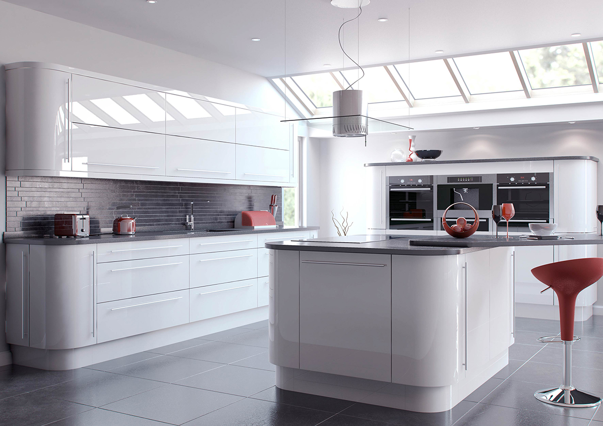 Vivo White Kitchens