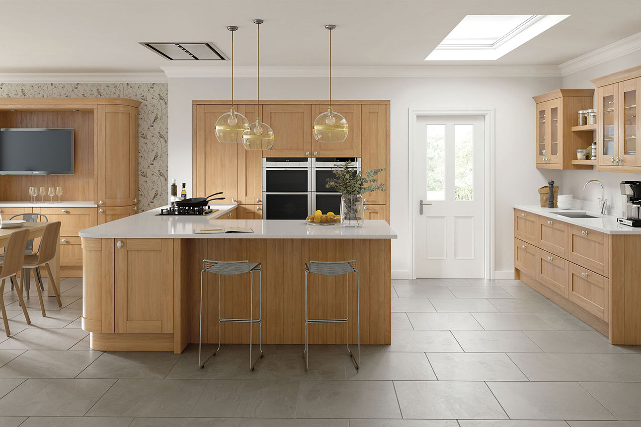 Cambridge Oak Kitchens