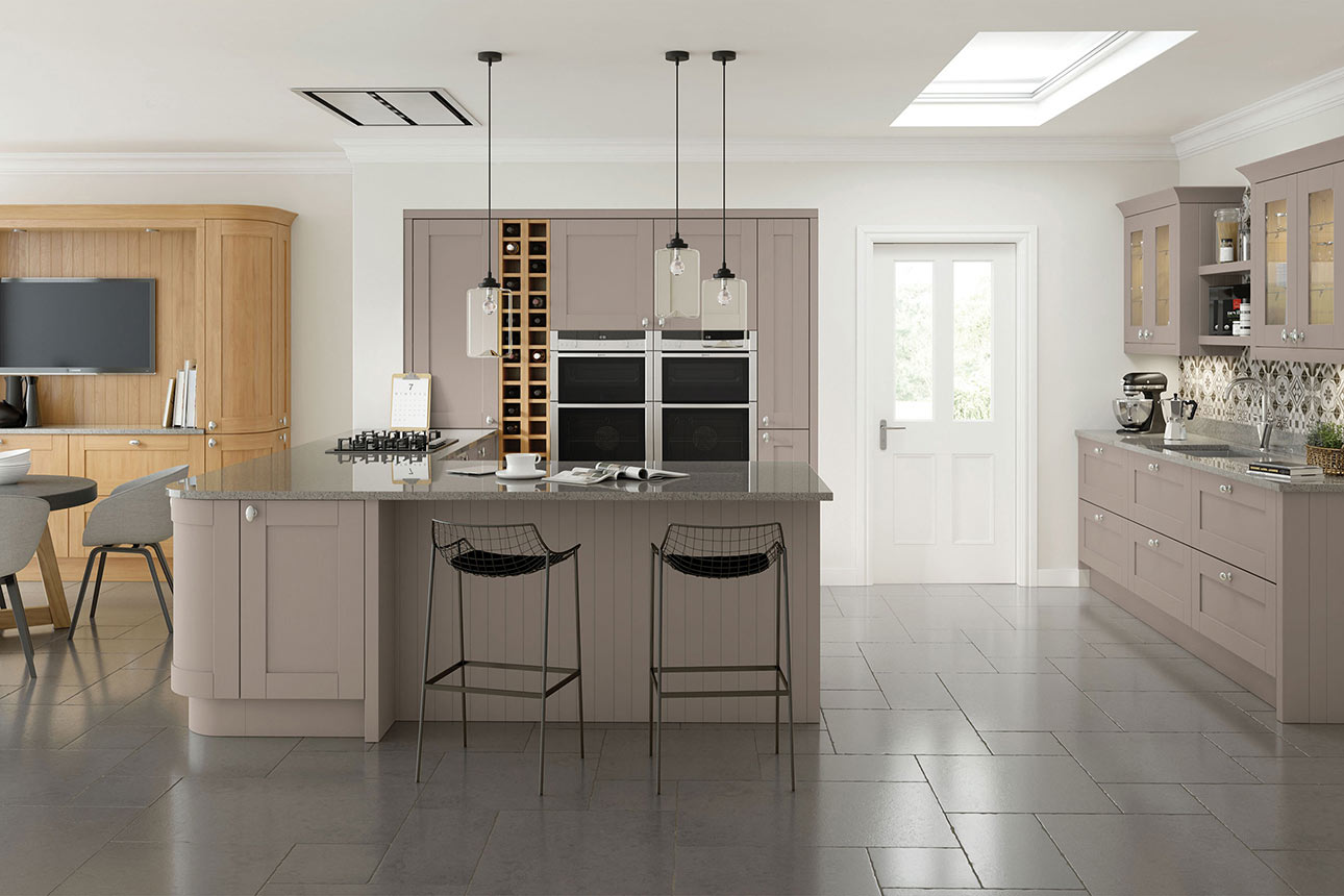 Cambridge Stone Grey Kitchens