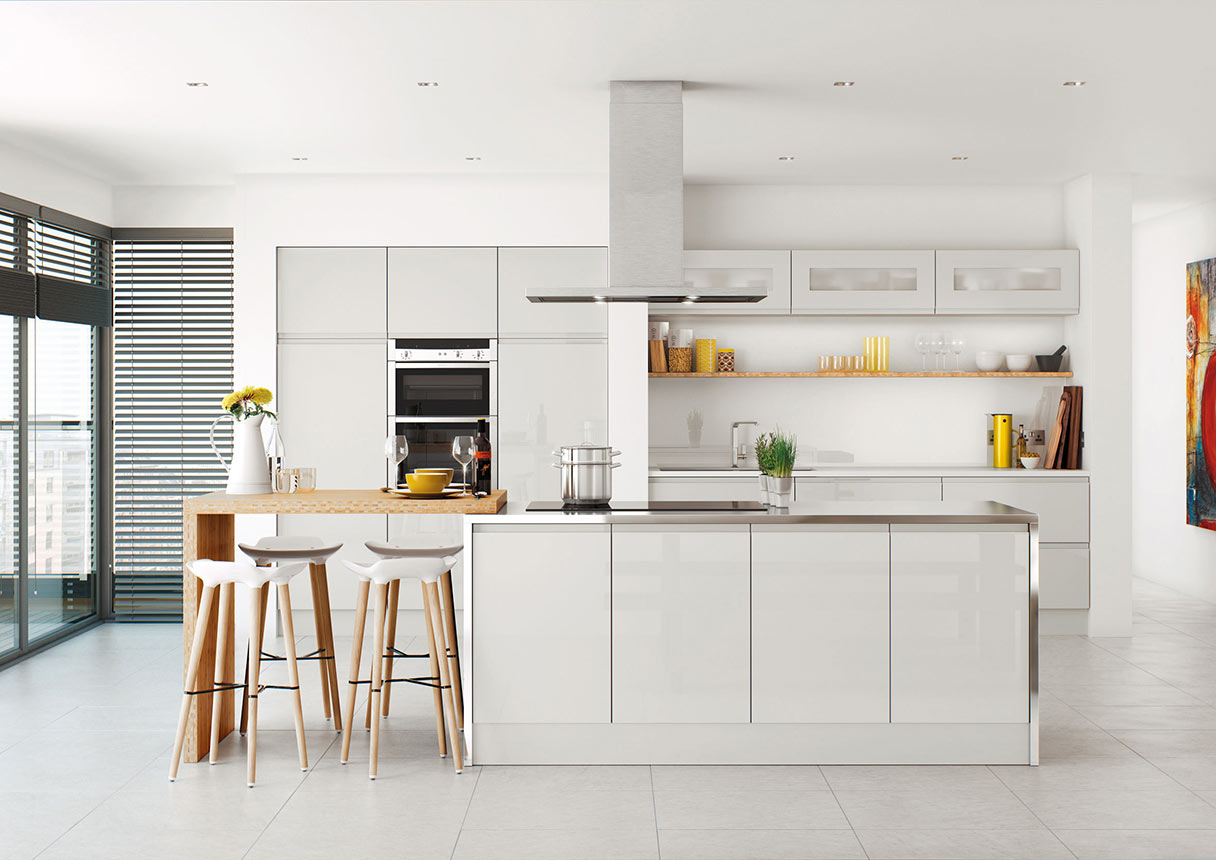 Lucente Grey Kitchens