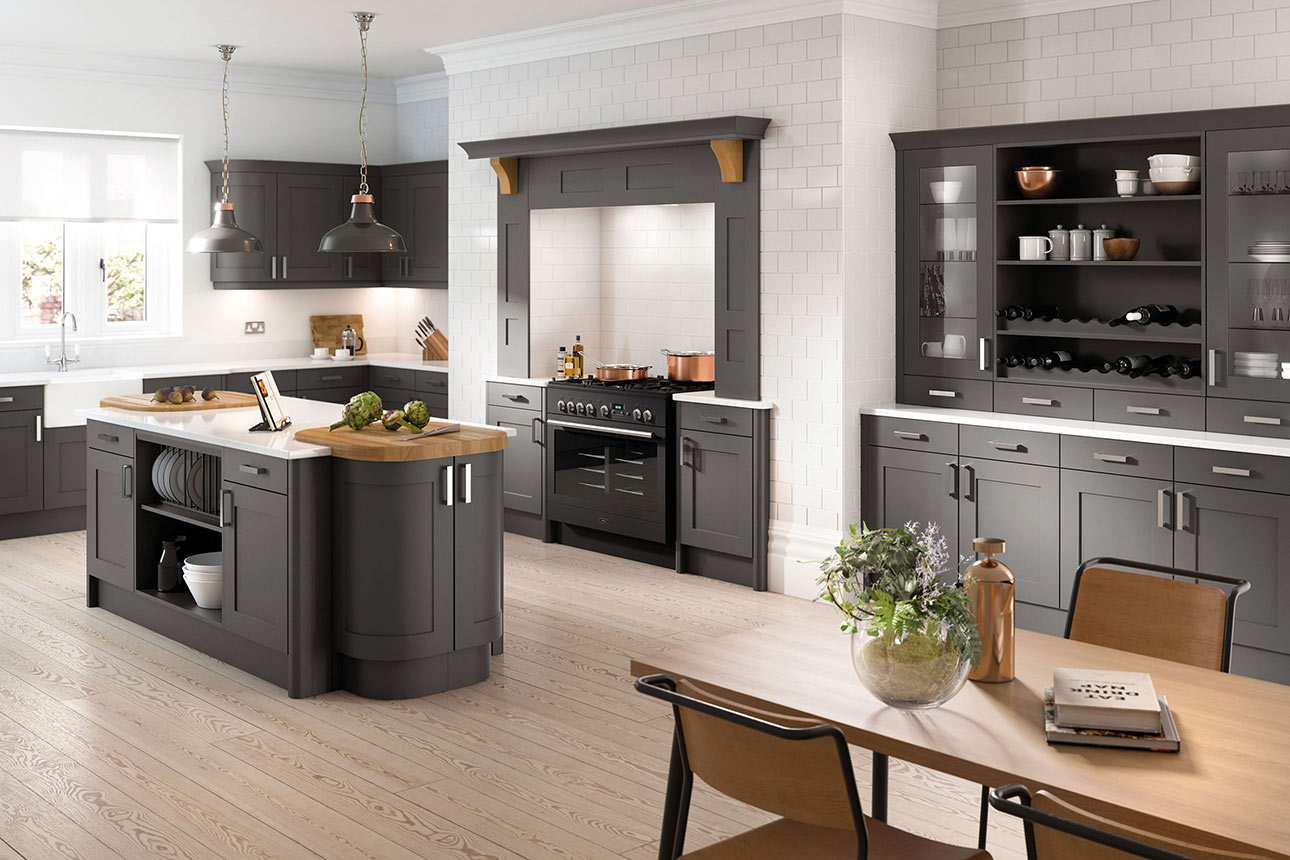 Oxford Anthracite Kitchens