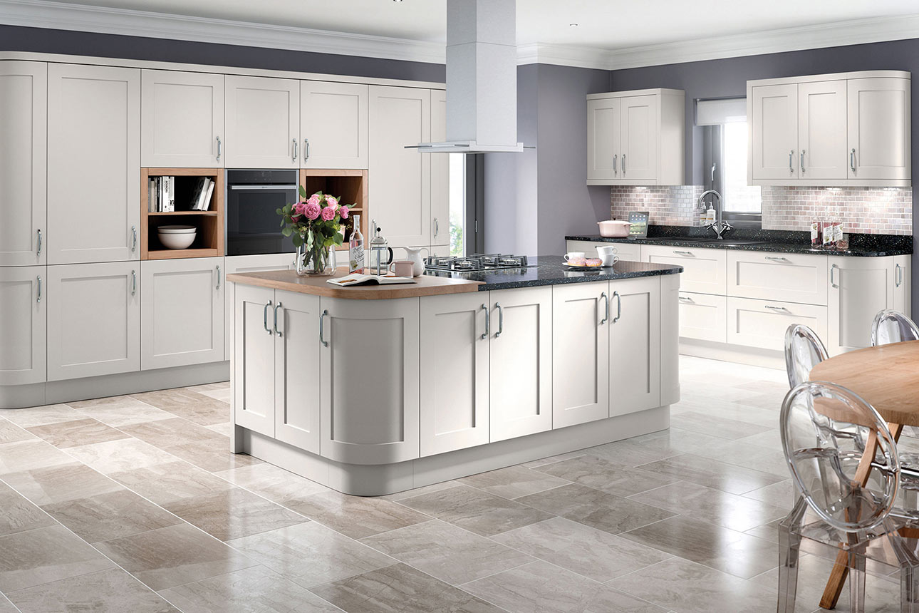 Oxford Light Grey Kitchens