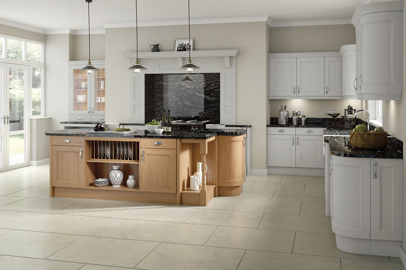 Windsor Light Grey Kitchens