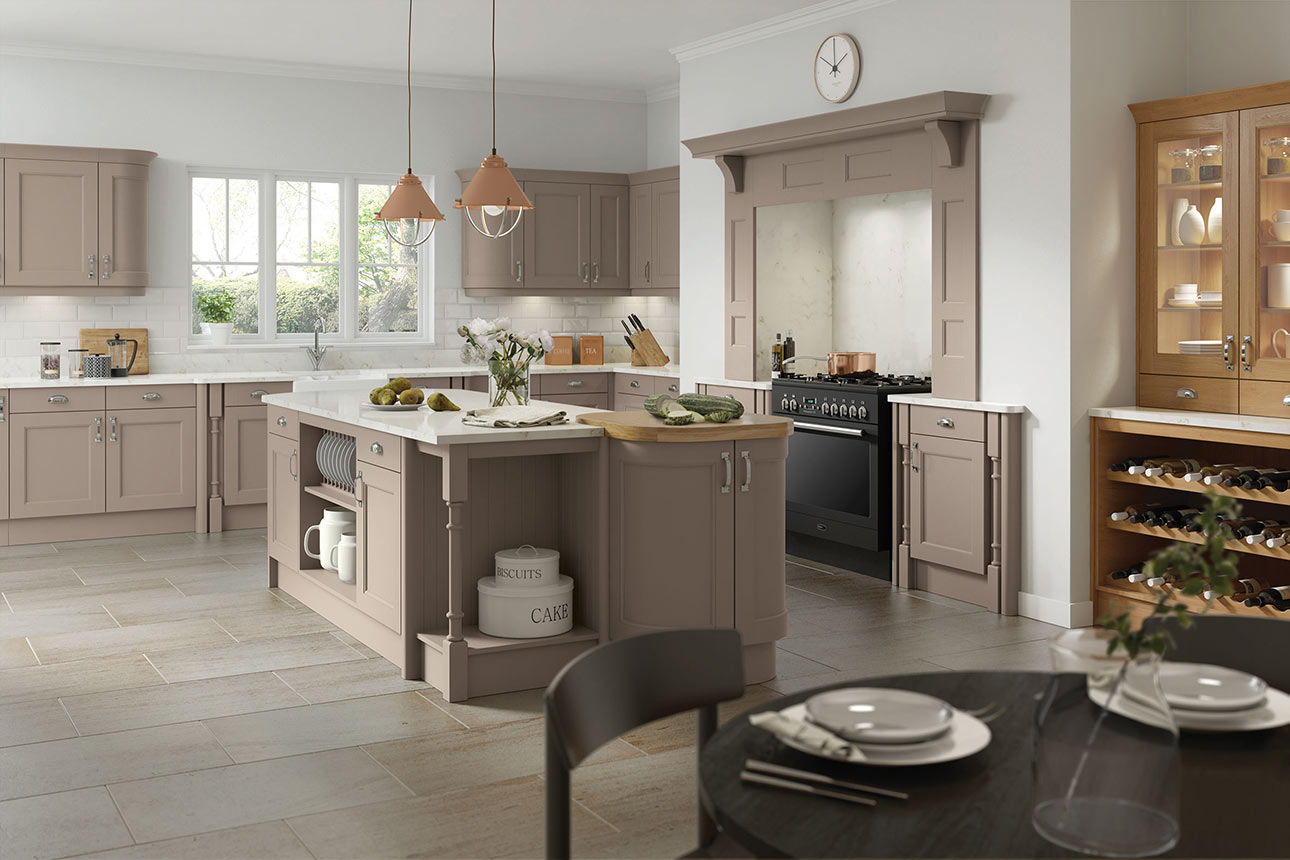 Windsor Stone Grey Kitchens