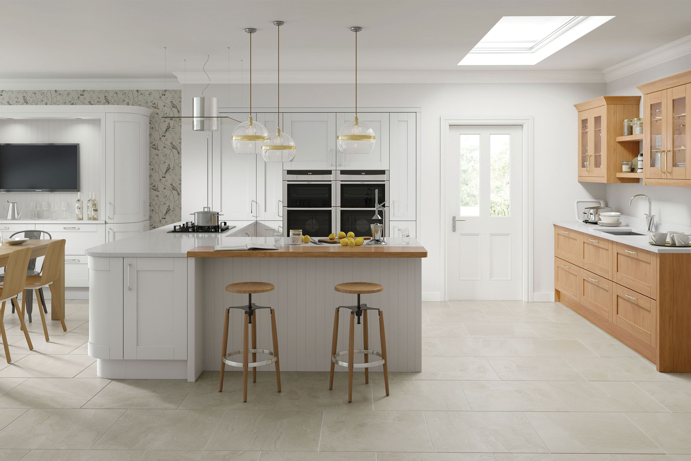 Cambridge Light Grey Kitchens