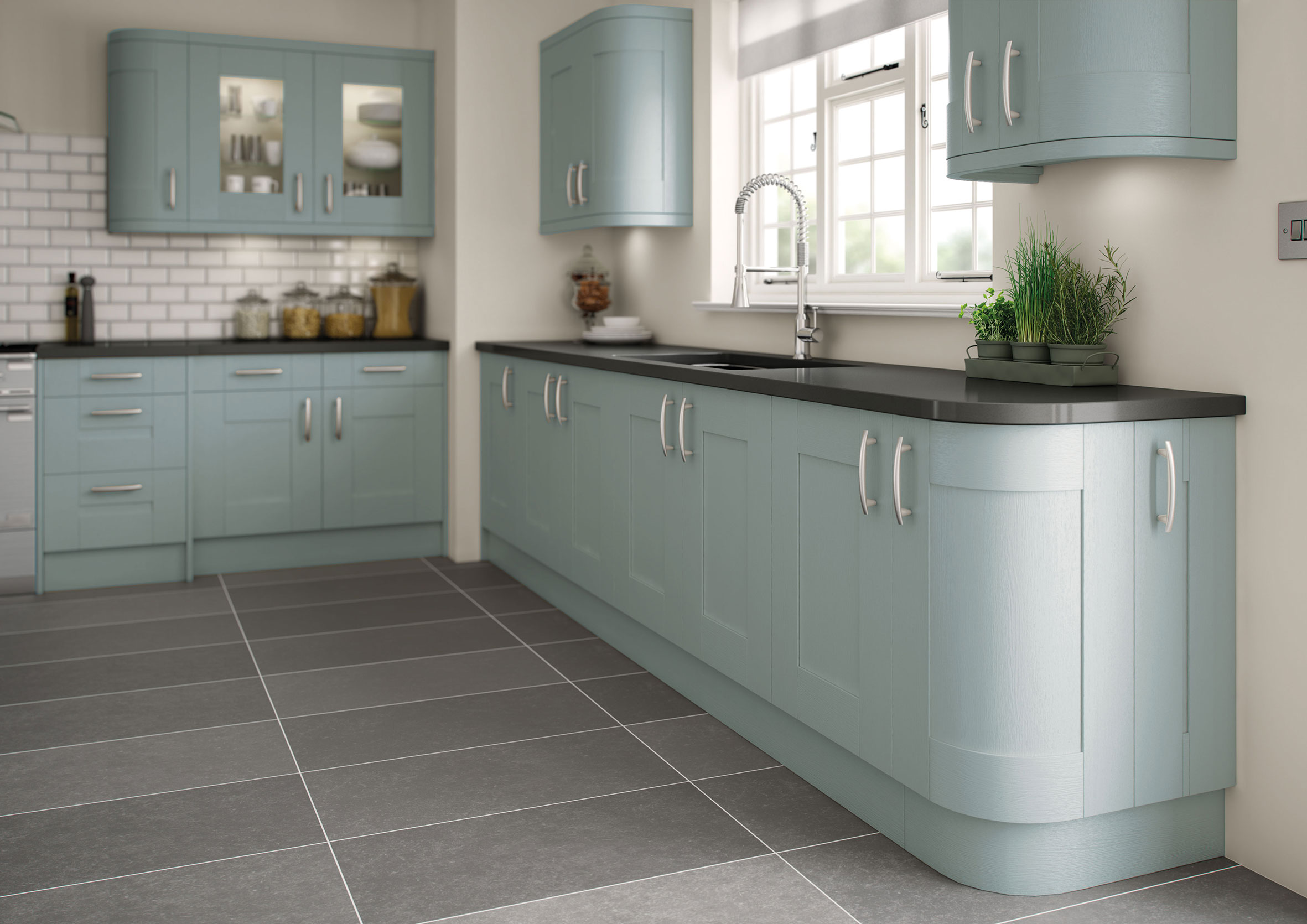Cartmel Hand Painted Kitchens